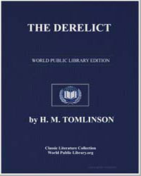 The Derelict by Tomlinson, H. M.