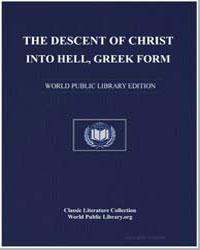 The Descent of Christ into Hell by Anonymous