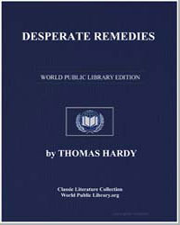 Desperate Remedies by Hardy, Thomas