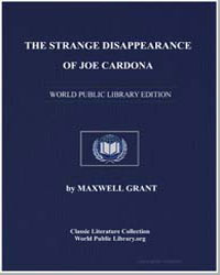 The Strange Disappearance of Joe Cardona by Grant, Maxwell