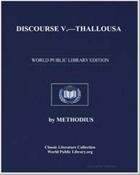 Discourse V : Thallousa by Methodius