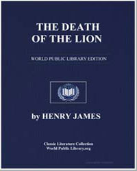 The Death of the Lion by James, Henry