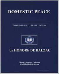 Domestic Peace by De Balzac, Honore