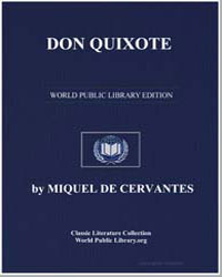 Don Quixote by De Cervantes, Miquel