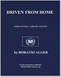 Driven from Home by Alger, Horatio, Jr.