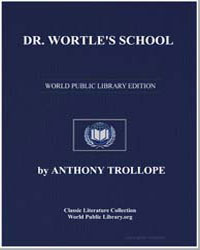 Dr. Wortle's School by Trollope, Anthony