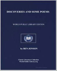 Discoveries and Some Poems by Johnson, Ben