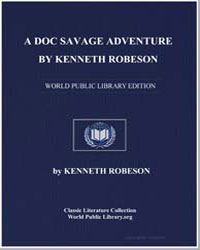 A Doc Savage Adventure by Robeson, Kenneth