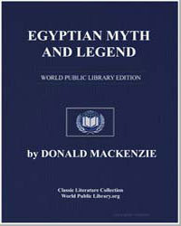 Egyptian Myth and Legend by Mackenzie, Donald