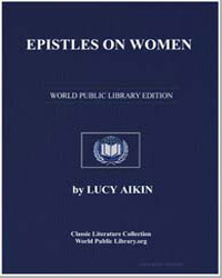 Epistles on Women by Aikin, Lucy