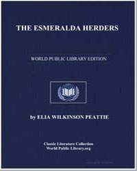 The Esmeralda Herders by Peattie, Elia Wilkinson