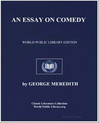 An Essay on Comedy by Meredith, George