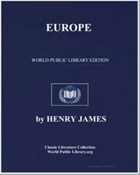 Europe by James, Henry