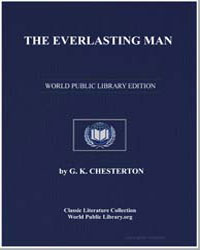 The Everlasting Man by Chesterton, Gilbert K.