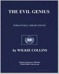 The Evil Genius by Collins, Wilkie