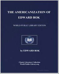 The Americanization of Edward Bok : The ... by Bok, Edward