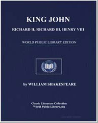 King John, Richard Ii, Richard Iii, Henr... by Shakespeare, William