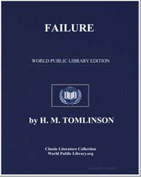 Failure by Tomlinson, H. M.