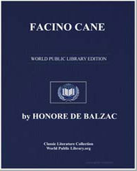 Facino Cane by De Balzac, Honore