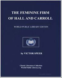 The Feminine Firm of Hall and Carroll by Speer, Victor