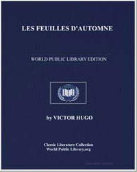Les Feuilles D'Automne by Hugo, Victor