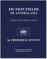 Fiction Fields of Australasia by Sinnett, Frederick