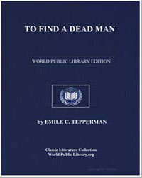 To Find a Dead Man by