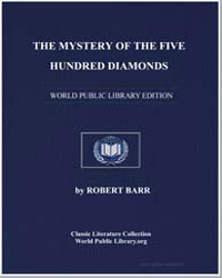 The Mystery of the Five Hundred Diamonds by Barr, Robert