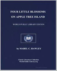Four Little Blossoms on Apple Tree Islan... by Hawley, Mabel C.
