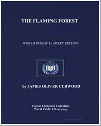 The Flaming Forest by Curwood, James Oliver