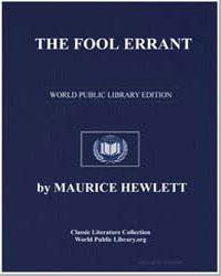 The Fool Errant by Hewlett, Maurice