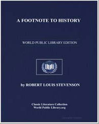 A Footnote to History by Stevenson, Robert Louis
