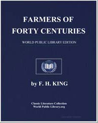 Farmers of Forty Centuries by King, F. H.