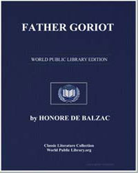 Father Goriot by De Balzac, Honore
