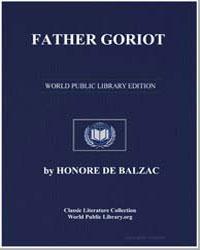 Father Goriot by De Balzac, Honore
