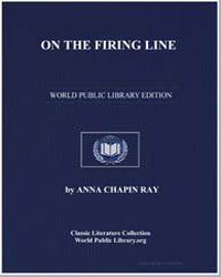 On the Firing Line by Ray, Anna Chapin