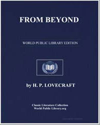 From Beyond by Lovecraft, H. P.