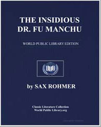 The Insidious Dr. Fu-Manchu: Being a Som... by Rohmer, Sax
