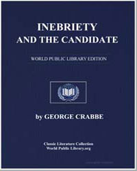 Inebriety and the Candidate by Crabbe, George