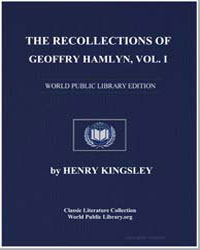 The Recollections of Geoffry Hamlyn by Kingsley, Henry