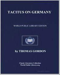 Tacitus on Germany by Gordon, Thomas