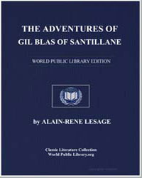 The Adventures of Gil Blas of Santillane by Lesage, Alain-Rene
