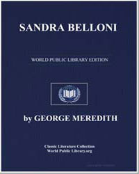 Sandra Belloni by Meredith, George