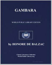 Gambara by De Balzac, Honore