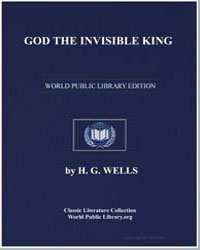 God the Invisible King by Wells, Herbert George