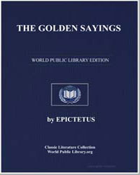 The Golden Sayings by Epictetus