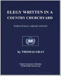 Elegy Written in a Country Churchyard by Gray, Thomas R.