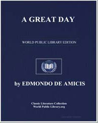A Great Day by De Amicis, Edmondo