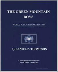 The Green Mountain Boys : A Historical T... by Thompson, Daniel Pierce