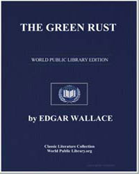 The Green Rust by Wallace, Edgar